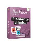 Elemente chimice. Carti de joc educative Montessori 6-12 ani