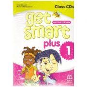 Get Smart Plus 1 British Version Class CDs - H. Q. Mitchell, Marileni Malkogianni