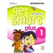 Get Smart Plus 1 Workbook + CD-ROM British Edition - H. Q. Mitchell, Marileni Malkogianni