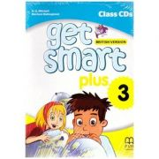 Get Smart Plus 3 British Version Class CDs - H. Q. Mitchell, Marileni Malkogianni