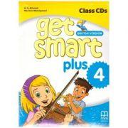 Get Smart Plus 4 British Version Class CDs - H. Q. Mitchell, Marileni Malkogianni