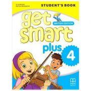 Get Smart Plus 4 Student's Book British Edition - H. Q. Mitchell, Marileni Malkogianni