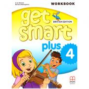 Get Smart Plus 4 Workbook + CD-ROM British Edition - H. Q. Mitchell, Marileni Malkogianni