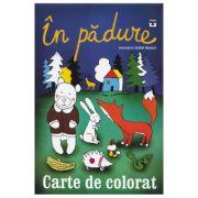 In padure. Carte de colorat - Andrei Gamart
