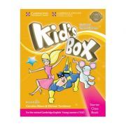 Kid's Box Starter Class Book with CD-ROM British English - Caroline Nixon, Michael Tomlinson