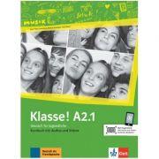 Klasse! A2. 1, Kursbuch mit Audios und Videos. Deutsch fur Jugendliche - Sarah Fleer, Ute Koithan, Tanja Mayr-Sieber, Bettina Schwieger
