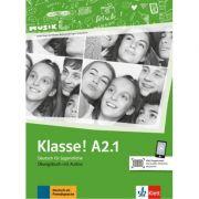 Klasse! A2. 1, Ubungsbuch mit Audios - Sarah Fleer, Ute Koithan, Tanja Mayr-Sieber, Bettina Schwieger