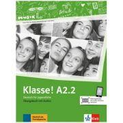 Klasse! A2. 2, Ubungsbuch mit Audios - Sarah Fleer, Ute Koithan, Tanja Mayr-Sieber, Bettina Schwieger