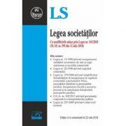 Legea societatilor - Cu modificarile aduse prin Legea nr. 163/2018