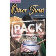 Literatura adaptata pentru copii Oliver Twist Set cu CD - Virginia Evans