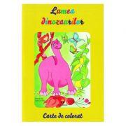 Lumea dinozaurilor. Carte de colorat