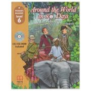 Primary Readers Around the World in 80 Days level 6 with CD - H. Q. Mitchell, Marileni Malkogianni