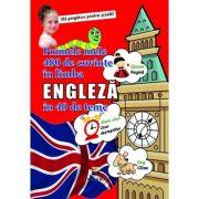 Primele mele 480 de cuvinte in limba engleza in 40 de teme