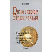 Redescoperirea culturii populare - I. Oprisan