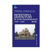 Repertoriul arhitecturii in Tara Romaneasca, volumull III - Tereza Sinigalia