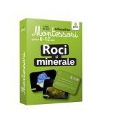 Roci si minerale. Carti de joc educative Montessori 6-12 ani