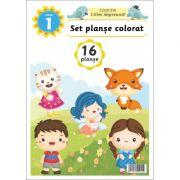 Set planse colorat clasa 1
