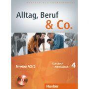 Alltag, Beruf & Co. 4, Kursbuch + Arbeitsbuch + CD zum Arbeitsbuch - Norbert Becker