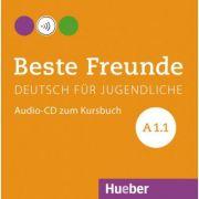 Beste Freunde A1-1, CD zum Kursbuch - Christiane Seuthe, Monika Bovermann, Manuela Georgiakaki, Elisabeth Graf-Riemann
