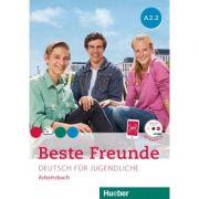 Beste Freunde A2-2 Arbeitsbuch mit Audio-CD - Manuela Georgiakaki, Anja Schümann, Christiane Seuthe