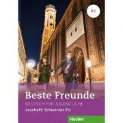 Beste Freunde B1 Leseheft Schwarzes Eis - Annette Vosswinkel