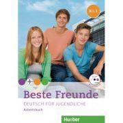 Beste Freunde B1. 1, Arbeitsbuch + CD-ROM - Manuela Georgiakaki, Anja Schümann, Christiane Seuthe