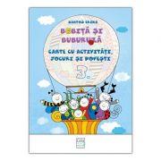 Bobita si Buburuza - Carte cu activitati, jocuri si povesti nr. 3 - Erika Bartos