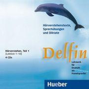 Delfin, 4 CDs, Horverstehen Teil 1 - Jutta Muller