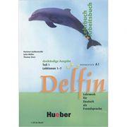 Delfin, Lehrbuch + Arbeitsbuch Teil 1 mit integrierter Audio-CD Lektionen 1–7 - Jutta Muller