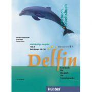 Delfin Lehrbuch + Arbeitsbuch Teil 3 mit integrierter Audio-CD Lektionen 15–20 - Hartmut Aufderstrasse, Jutta Muller, Thomas Storz