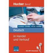 Deutsch in Handel und Verkauf Buch mit MP3-Download Griechisch, Spanisch, Polnisch, Rumanisch - Leila Finger, Inge Kunerl