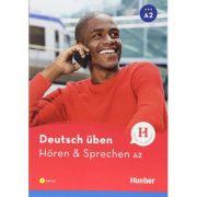 Deutsch uben Horen & Sprechen A2 Buch mit Audios online - Anneli Billina