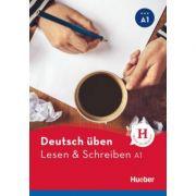 Deutsch uben. Lesen & Schreiben A1 Buch - Bettina Holdrich