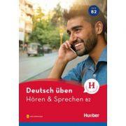 Deutsch uben. Horen & Sprechen B2 Buch mit Audios online - Anneli Billina, Julika Ulrike Betz