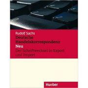 Deutsche Handelskorrespondenz Neu, Lehrbuch - Rudolf Sachs
