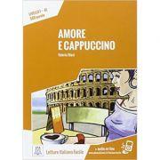 Amore e cappuccino (libro + audio online)/Dragoste si cappuccino (carte + audio online) - Valeria Blasi