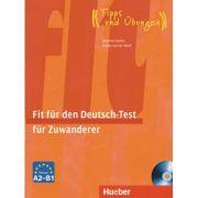 Fit fur den Deutsch-Test fur Zuwanderer Ubungsbuch mit integrierter Audio-CD - Johannes Gerbes, Frauke van der Werff