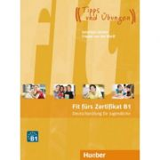 Fit furs Zertifikat B1, Deutschprufung fur Jugendliche Lehrbuch mit Code fur mp3-Download - Frauke van der Werff, Johannes Gerbes