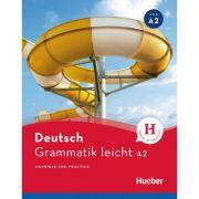 Grammatik leicht A2 Buch - Rolf Bruseke