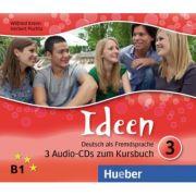 Ideen 3. 3 Audio-CDs zum Kursbuch - Wilfried Krenn, Herbert Puchta