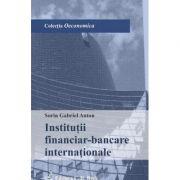 Institutii financiar-bancare internationale - Sorin Gabriel Anton