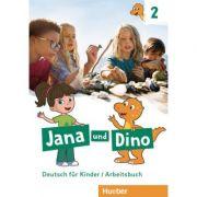 Jana und Dino 2 Arbeitsbuch - Michael Priesteroth
