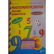 Jocuri didactice matematice, Caietul prescolarului cu autocolante - Smaranda Maria Cioflica