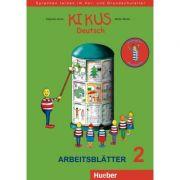 KIKUS Deutsch Arbeitsblatter 2 (4 bis 7 Jahre) Sprachen lernen im Vor- und Grundschulalter - Edgardis Garlin, Stefan Merkle