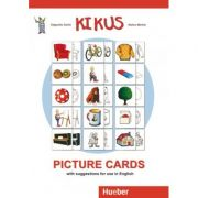 KIKUS Englisch Picture Cards with suggestions for use in English - Edgardis Garlin, Stefan Merkle