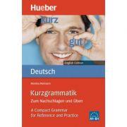 Kurzgrammatik Deutsch English Edition Ausgabe Englisch Zum Nachschlagen und Uben - Monika Reimann