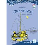 L'isola misteriosa (libro + audio online)/Insula misterioasa ( carte + audio online) - Sabrina Galasso