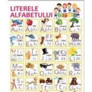 Plansa A2 Literele alfabetului