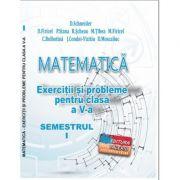 MATEMATICA Exercitii si probleme clasa a V-a Semestrul I, 2020 - Delia Schneider