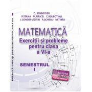 Matematica, exercitii si probleme pentru clasa a VI-a, semestrul I, 2020 - Delia Schneider